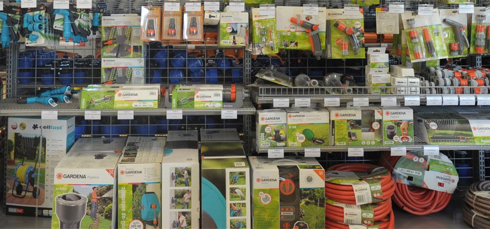 Öntözéstechnikai és kertészeti áruház Szeged