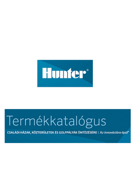 Hunter termékkatalógus